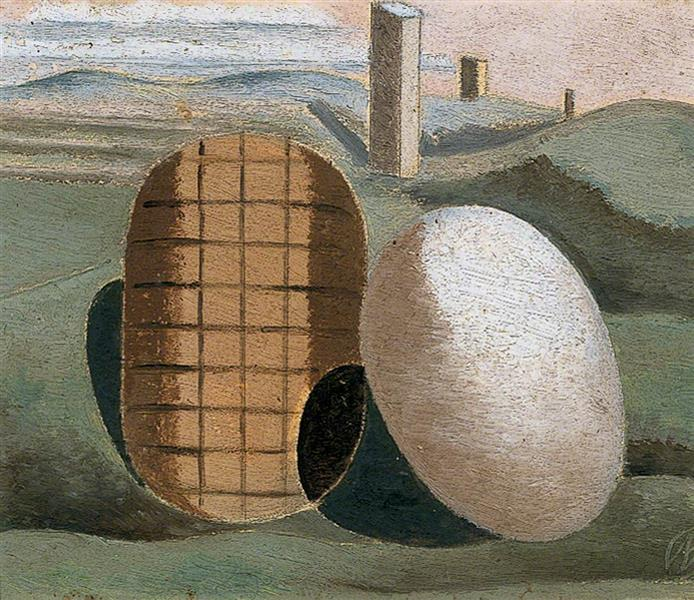 Landscape Composition (Objects in Relation), 1934 - Paul Nash
