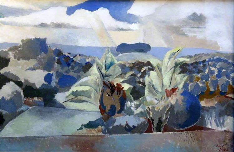 Landscape of the Bagley Woods, 1943 - Paul Nash