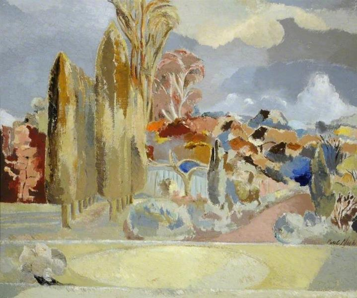 Michaelmas Landscape, 1943 - Paul Nash