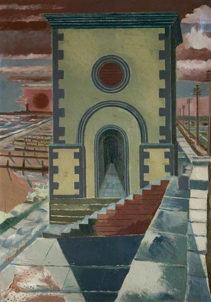 Nostalgic Landscape, 1923 - 1938 - Paul Nash