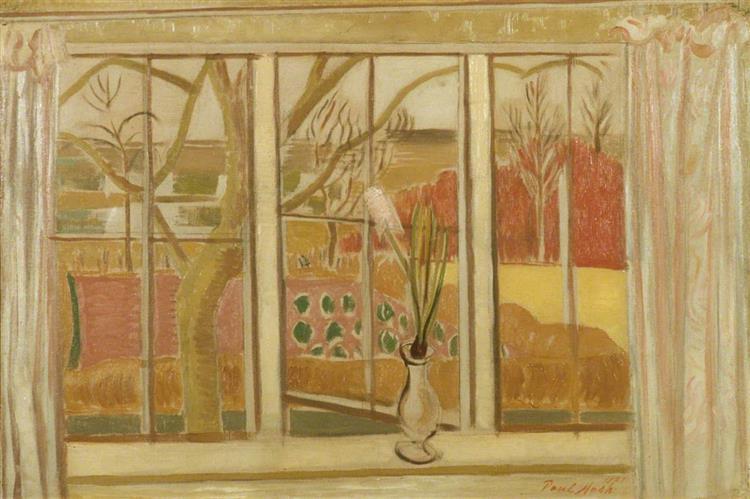 Pink Hyacinth, 1921 - Paul Nash