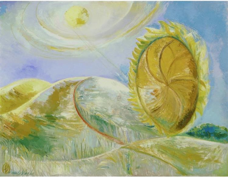 Solstice of the Sunflower, 1945 - Paul Nash
