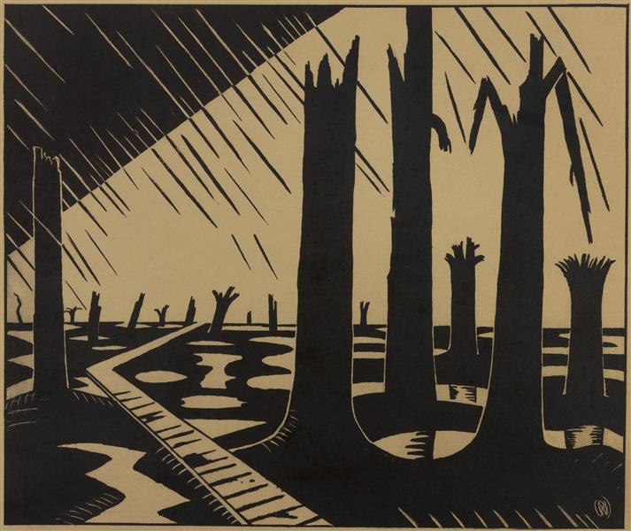 Void of War, 1918 - Paul Nash
