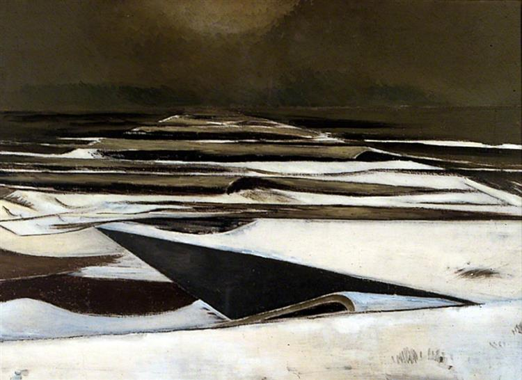 Winter Sea, 1925 - 1937 - Paul Nash