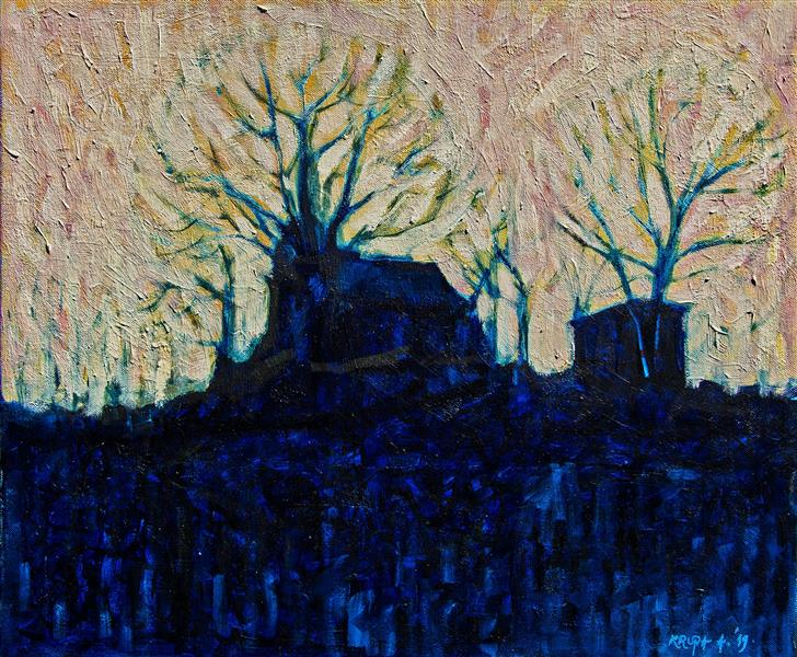The abandoned rural estate, 2019 - Alfred Freddy Krupa