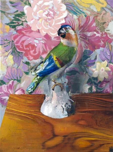 Blue Parrot, Mother'sbliss, 2019 - Cristiano Tassinari