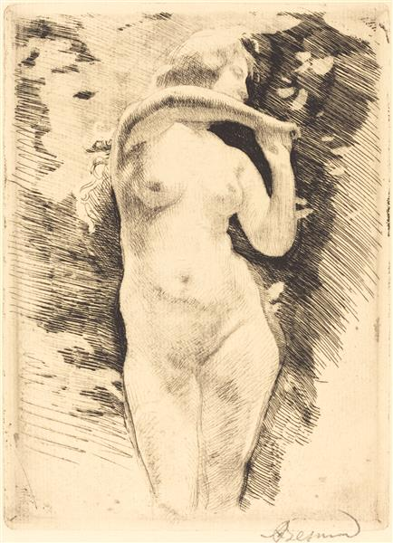 Eve, 1886 - Paul-Albert Besnard