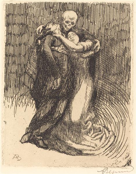 Love Consecrated, 1900 - Albert Besnard
