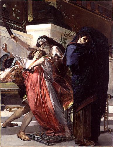 La Mort De Timophane, 1874 - Albert Besnard