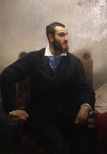 Portrait D'andré Wormser, 1877 - Albert Besnard