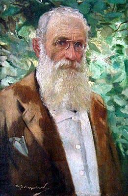 Self-portrait, 1926 - Ivan Mrkvička