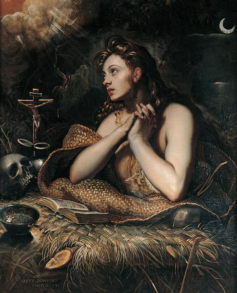 Magdalena Penitente, c.1598 - c.1602 - Domenico Tintoretto