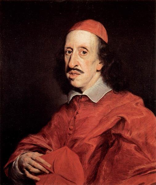 Cardinal Leopoldo De' Medici, c.1667 - Джованни Баттиста Гаулли