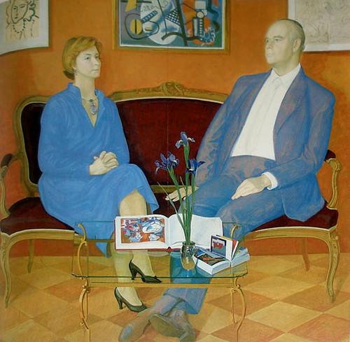 Irene and Peter Ludwig, 1981 - Dmitri Zhilinsky
