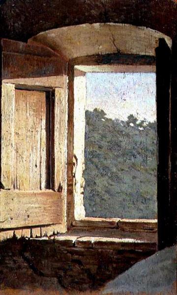 La Finestra - Giuseppe Abbati