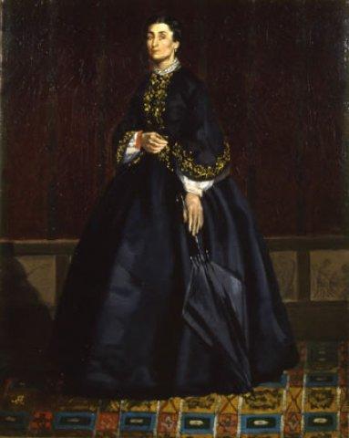 Portrait of a Woman, c.1860 - Giuseppe Abbati