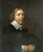 A Man with a Yellow Glove (self portrait), c.1640 - David Bailly