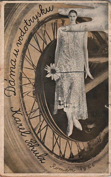Cover for Dáma U Vodotrysku (The Lady by the Fountain) - Jindrich Styrsky
