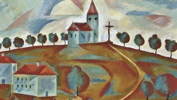 Kostel Na Kopci, 1921 - Jindrich Styrsky