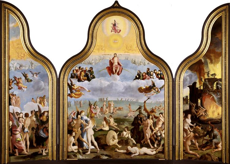 The Last Judgment, c.1526 - c.1527 - Lucas van Leyden