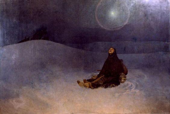 Woman in the Wilderness, 1923 - Alphonse Mucha