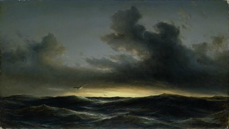 Marine Solitude, 1852 - Anton Melbye