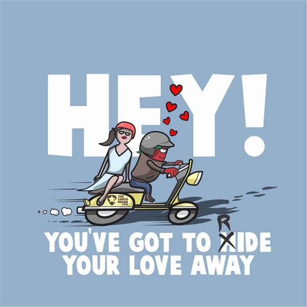 Hey! You've got to ride your love away, 2015 - Marcelo Azeva