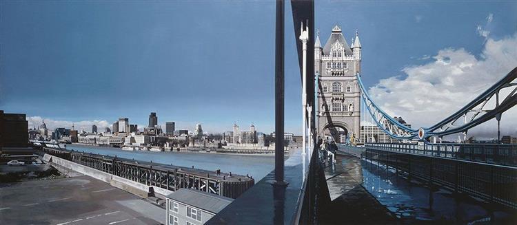 Tower bridge, London, 1989 - Richard Estes
