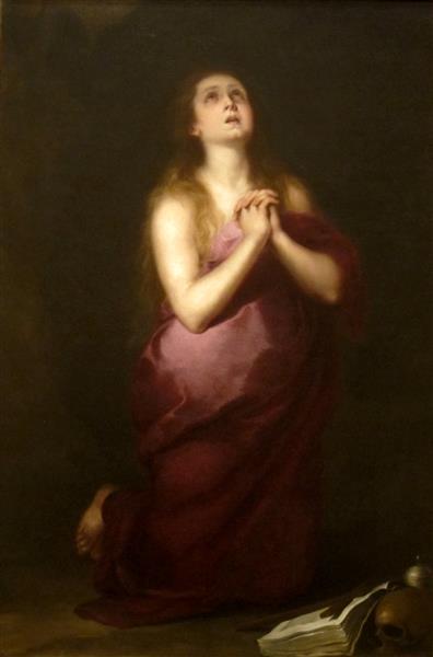 Saint Mary Magdalene, 1655 - Bartolome Esteban Murillo