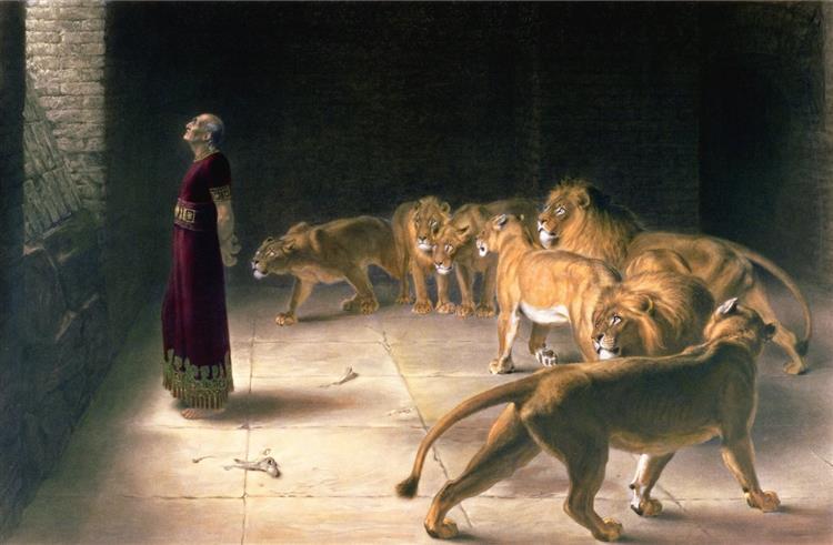Daniel's Answer to the King - Briton Riviere