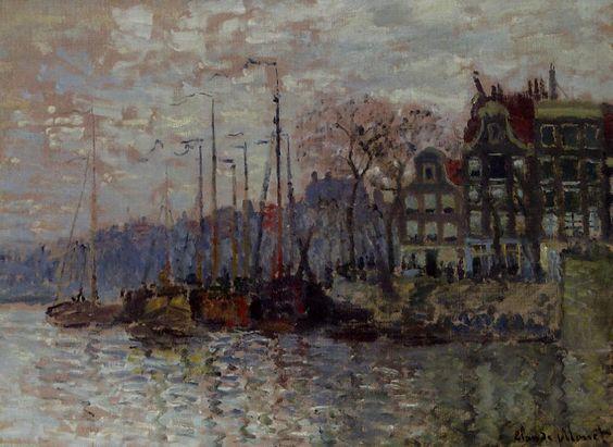 Amsterdam, 1874 - Claude Monet