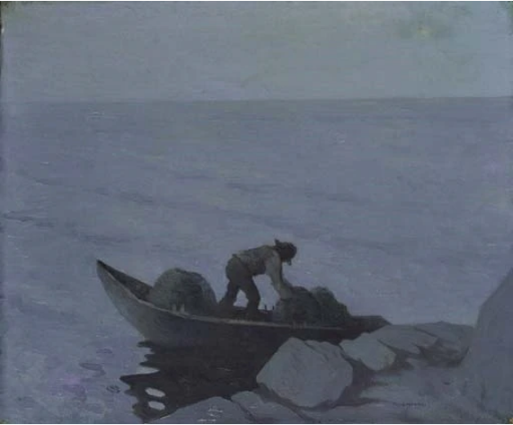 The Lobster Fisher, c.1911 - c.1913 - Paul Henry
