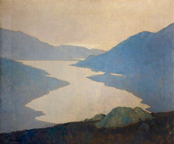 Dawn, Killary Harbour, 1921 - Paul Henry