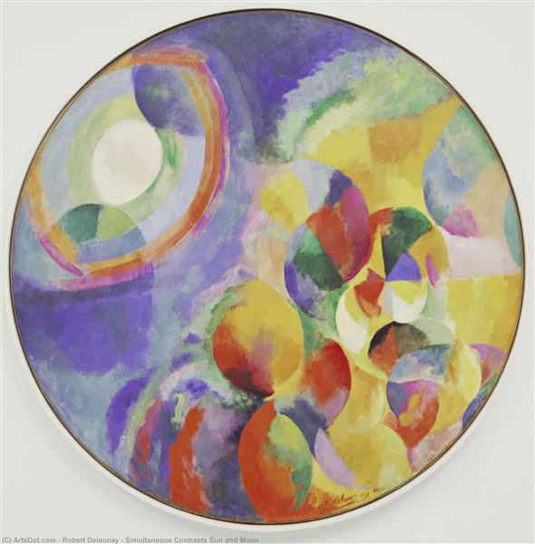 Simultaneous Contrasts: Sun and Moon, 1913 - Robert Delaunay