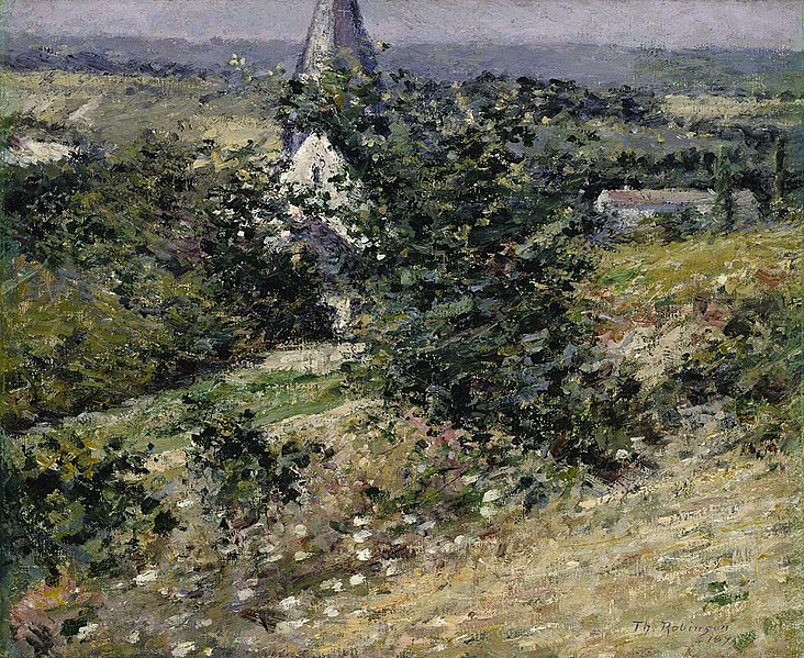 Old Church at Giverny, 1891 - Theodore Robinson