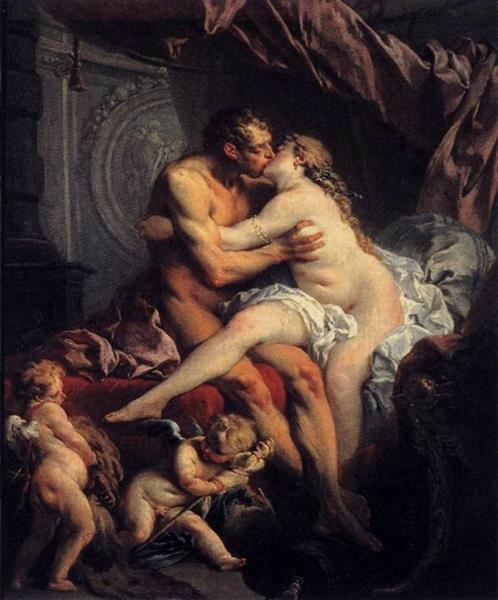 Hercules and Omphale, 1735 - Francois Boucher