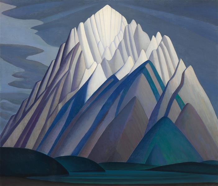 Mountain Forms, 1926 - Lawren Harris