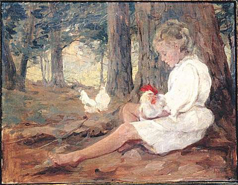 Audrey and Chickapick, 1911 - Clara Southern