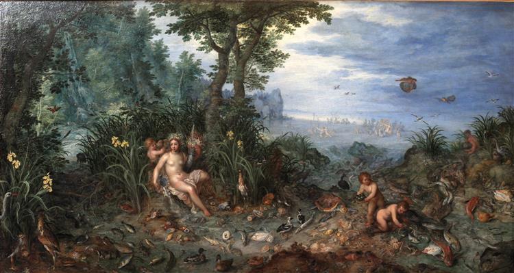 Water - Jan Brueghel the Elder