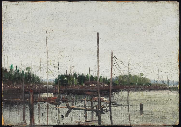 Drowned Land, 1912 - Tom Thomson