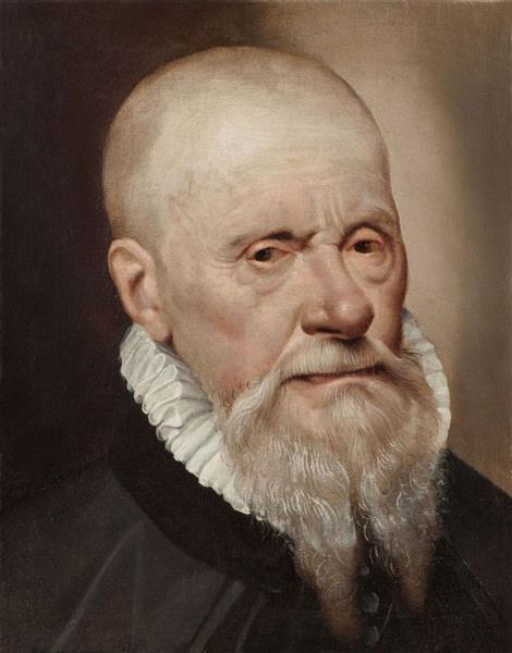 Portrait of a Gentleman, c.1580 - Bartolomeo Passarotti