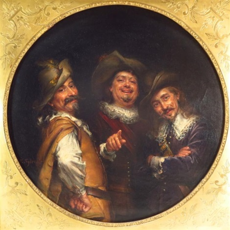The three Musketeers - Joseph-Noël Sylvestre