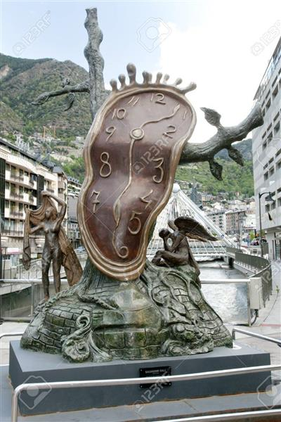 Nobility of Time, 1977 - 1984 - Salvador Dali