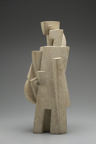 The Man with the Mandolin, 1917 - Jacques Lipchitz