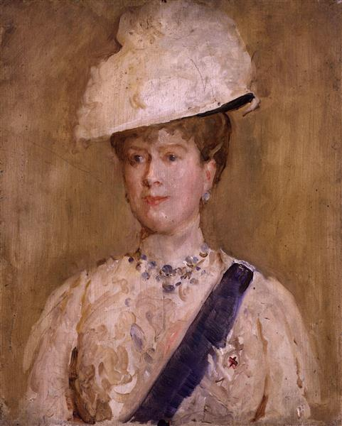 Queen Mary, 1927 - Solomon Joseph Solomon