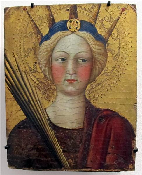 Santa Caterina D'Alessandria, 1428 - Álvaro Pires de Évora