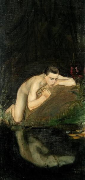 Narcissus, 1896 - 1897 - Magnus Enckell