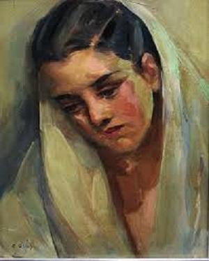 Retrato Femenino, c.1936 - Carmen Osés Hidalgo