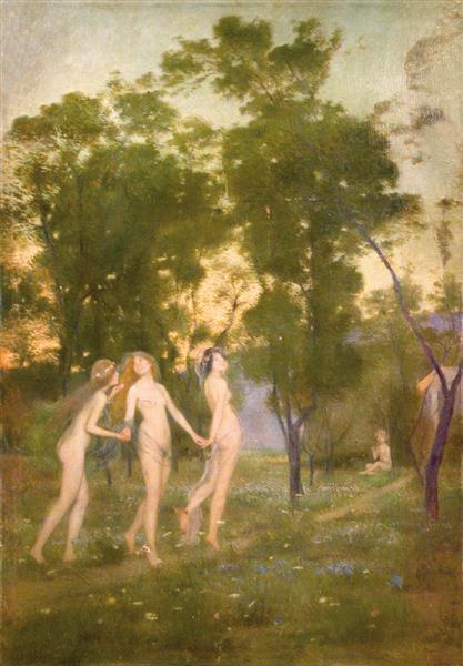 Nimfes, 1904 - Joan Brull