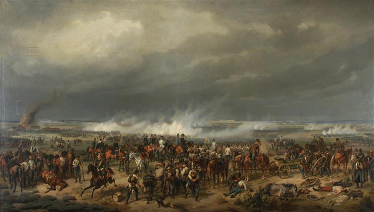 The Battle of Komorn, 1852 - Albrecht Adam